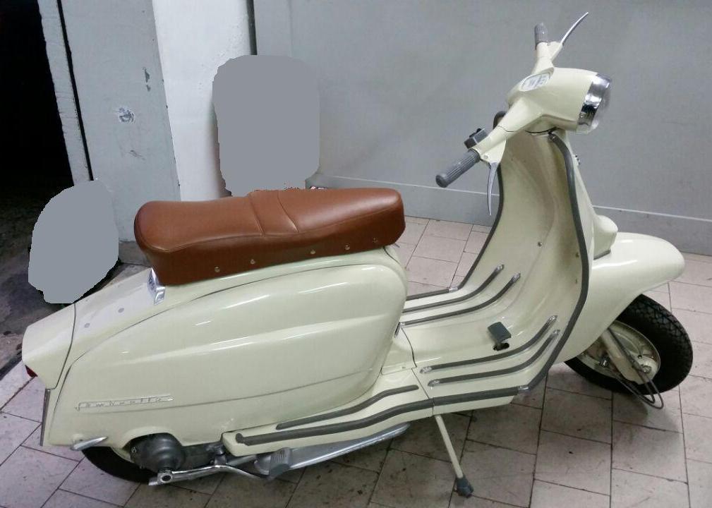 RESTAURO LAMBRETTA 125 LI 1962