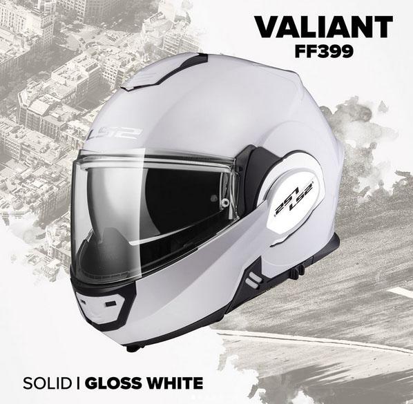 LS2 Helmets presenta il nuovo convertibile VALIANT FF399.