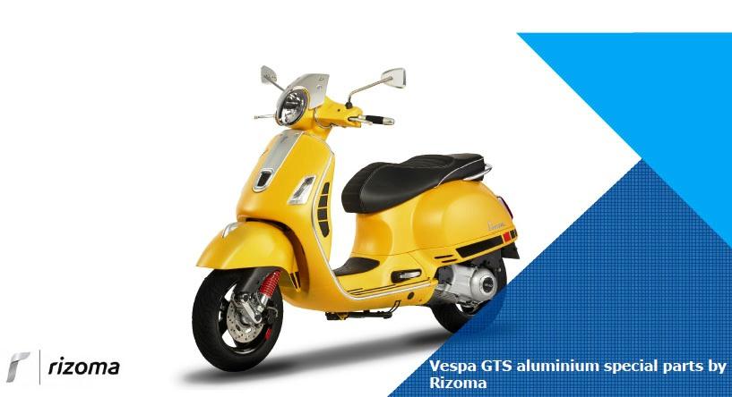 La linea di accessori Rizoma per VESPA GTS – VESPA GTS SUPER