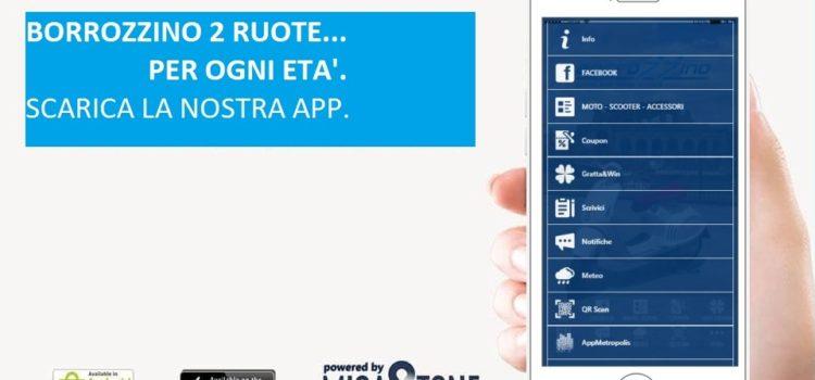 BORROZZINO 2 RUOTE, le notizie in tasca: scarica la nostra app e ricevi le notifiche